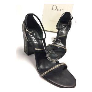 Christian Dior | Detec Stitch Sandal Heels Vintage